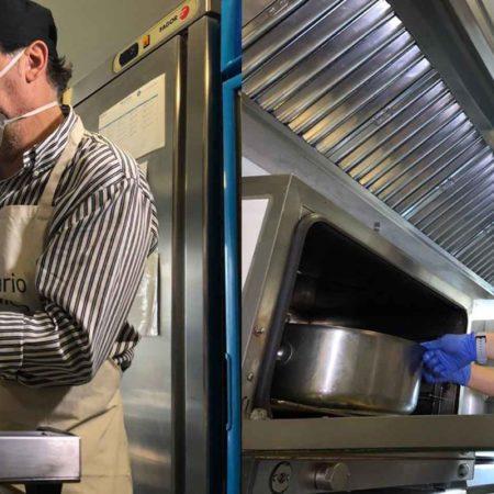 Voluntarios Telefónica se convierten en chefs para ayudar a familias vulnerables