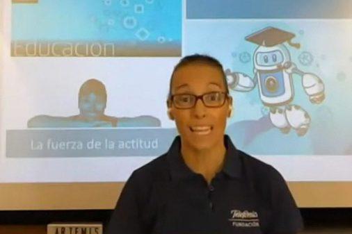 Teresa Perales, un ejemplo para cientos de adolescentes