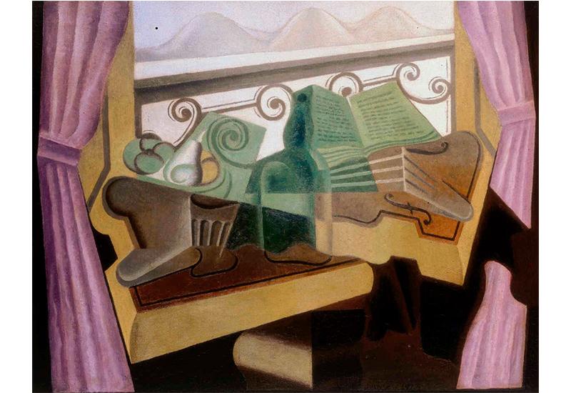 La fenêtre aux collines, 1923
