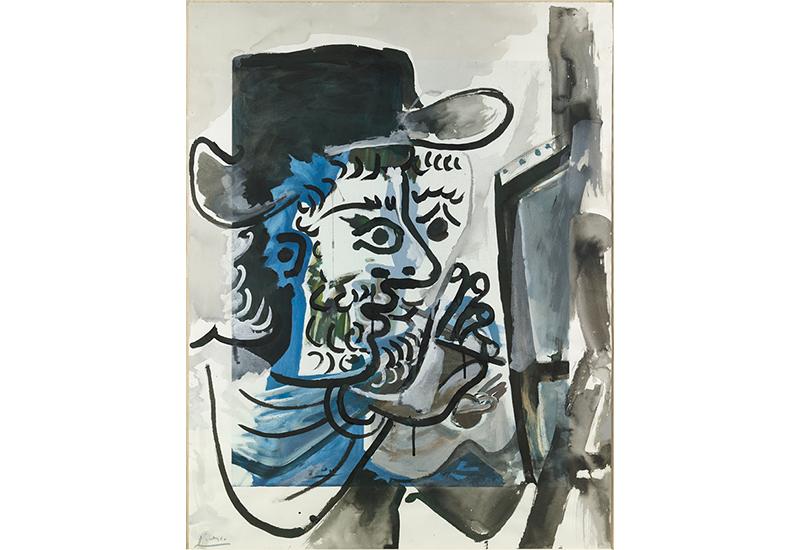 Pablo Picasso: Le peintre au travail, 1964