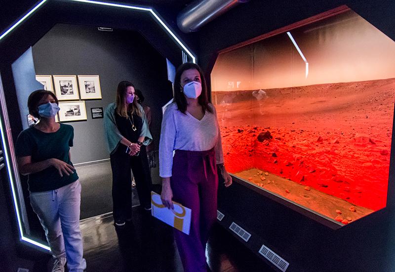 Inauguración de 'Marte. La conquisdta de un sueño' en Sevilla