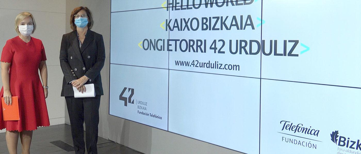 ¡Bienvenido 42 Urduliz!