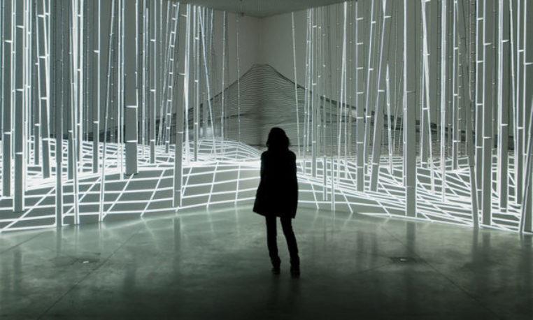 'Joanie Lemercier. Paisajes de luz', en Madrid