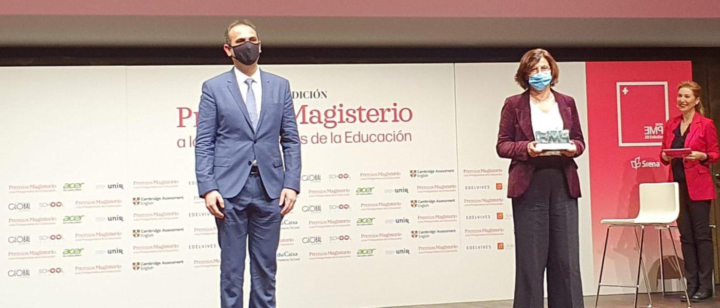 Los Premios Magisterio reconocen la labor de Conecta Educación durante la pandemia