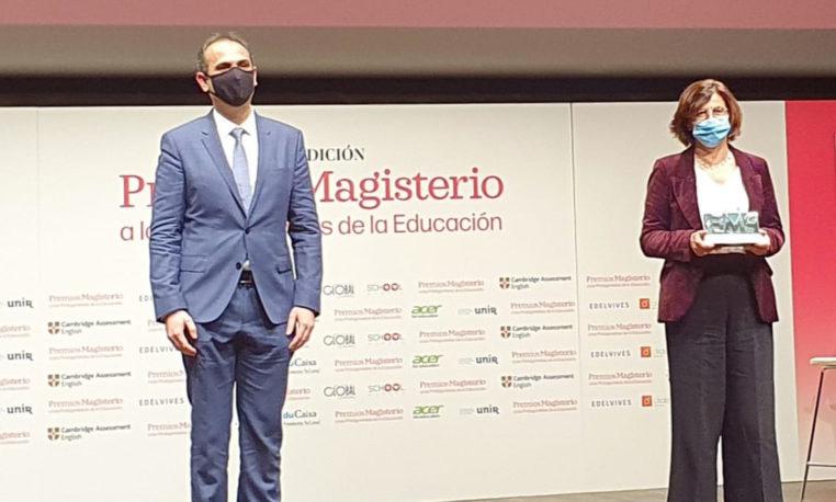 El periódico Magisterio premia la labor de Conecta Educación