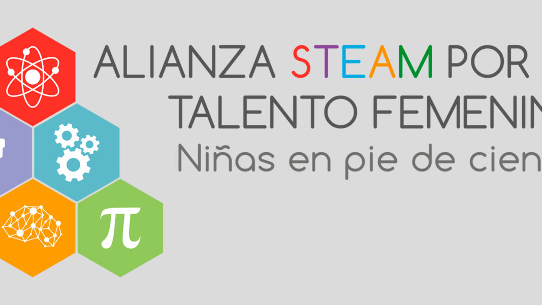 Nos sumamos a la Alianza STEAM por el talento femenino 'Niñas en pie de ciencia'