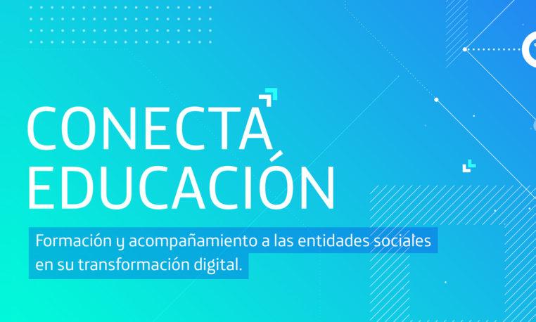 'Conecta Educación': oferta formativa para entidades sociales