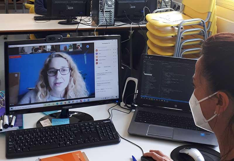 Olga, participante de primera edición de la formación en 'Programación Web'
