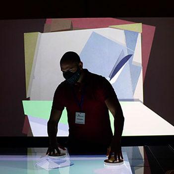 'Intangibles. Una experiencia digital de la Colección Telefónica', en Murcia