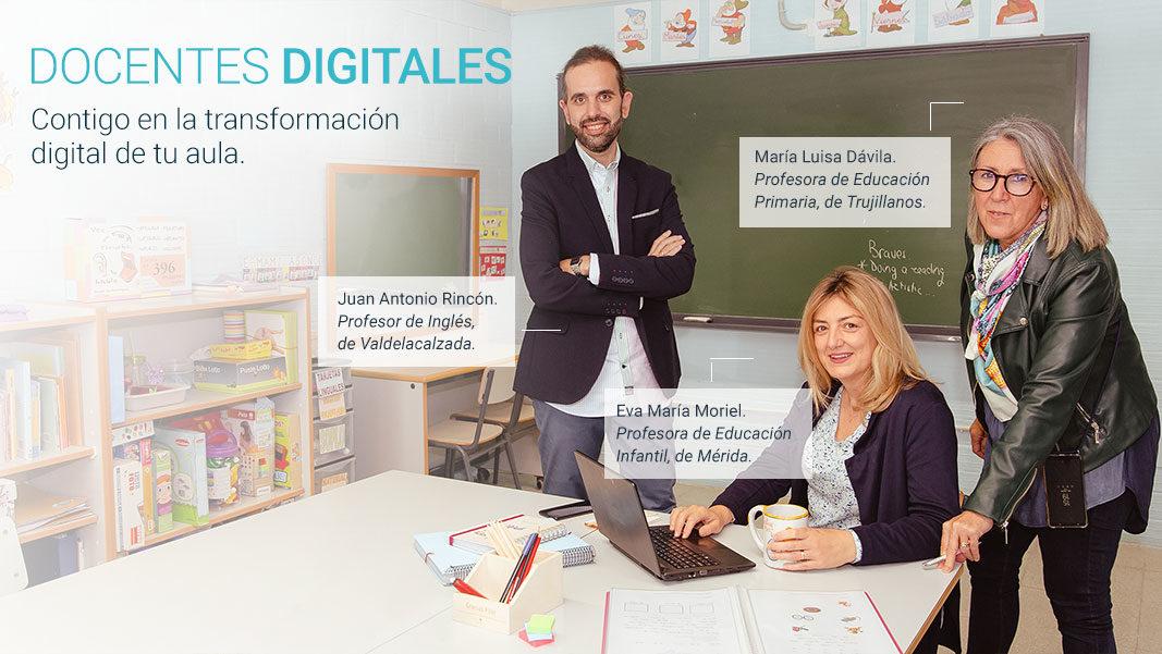 'Docentes digitales': Extremadura refuerza la transformación digital de la educación