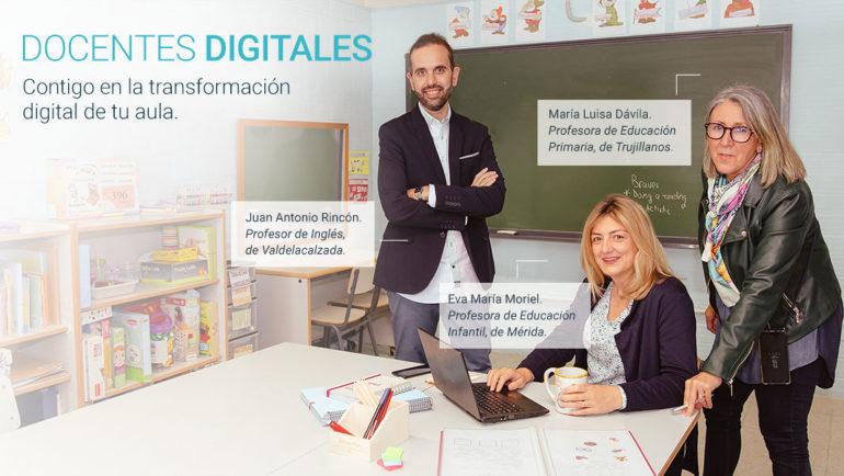 Impulso a la transformación digital de la educación en Extremadura, con 'Docentes digitales'