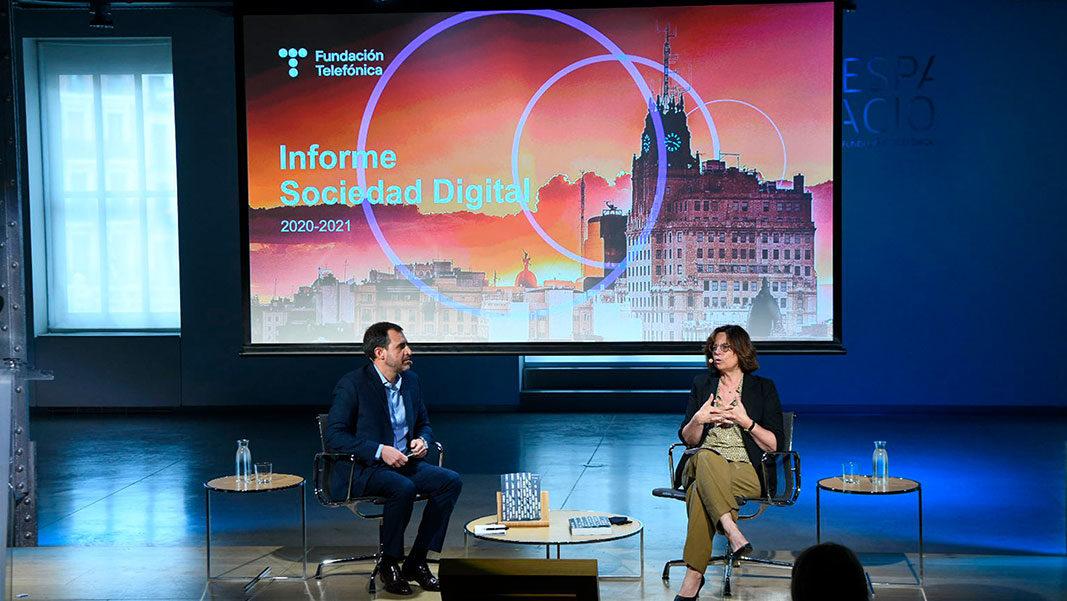 Presentación del informe 'Sociedad Digital en España. El año en que todo cambió'