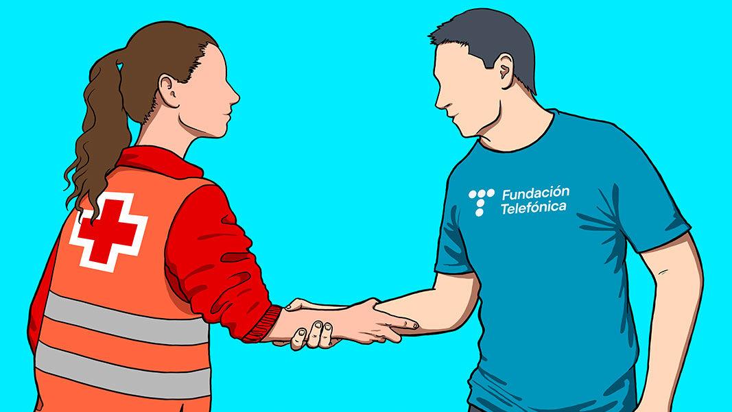 Sumamos fuerzas con Cruz Roja para la transformación digital de su acción social