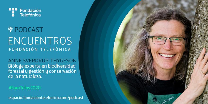 Foro Telos 2020: Encuentro con Anne Sverdrup-Thygeson