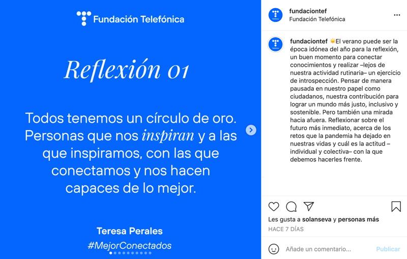 Reflexiones Instagram