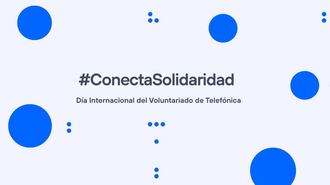 Participa en el Día Internacional del Voluntariado Telefónica