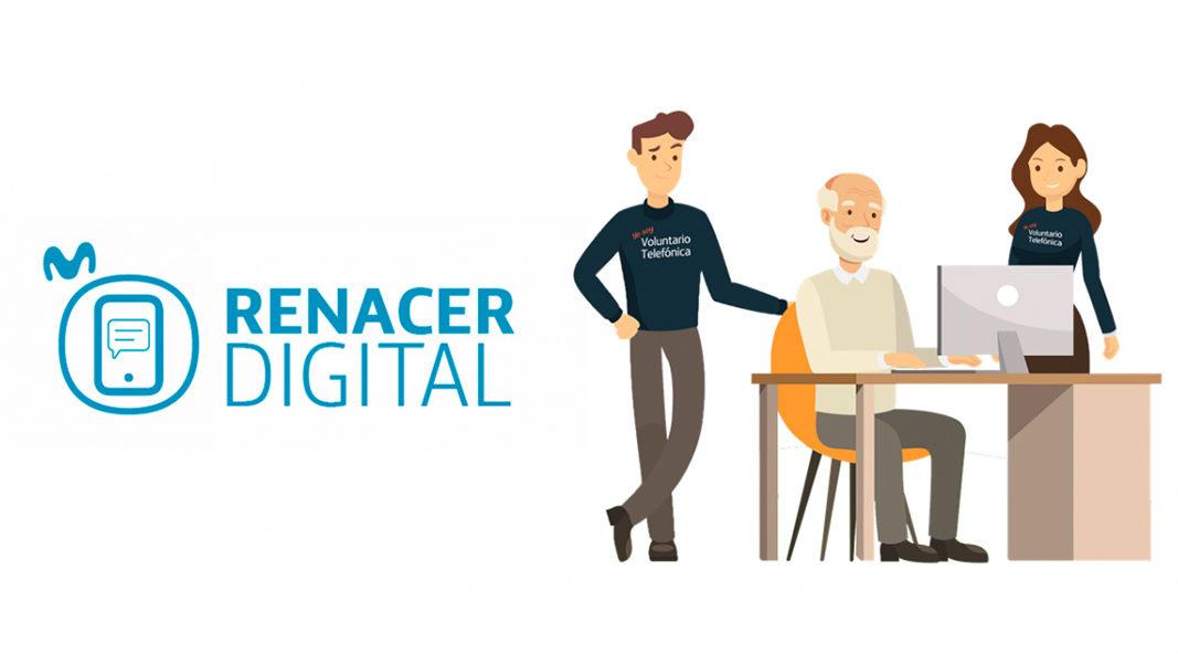 Ayuda a los más mayores con su 'Renacer Digital'