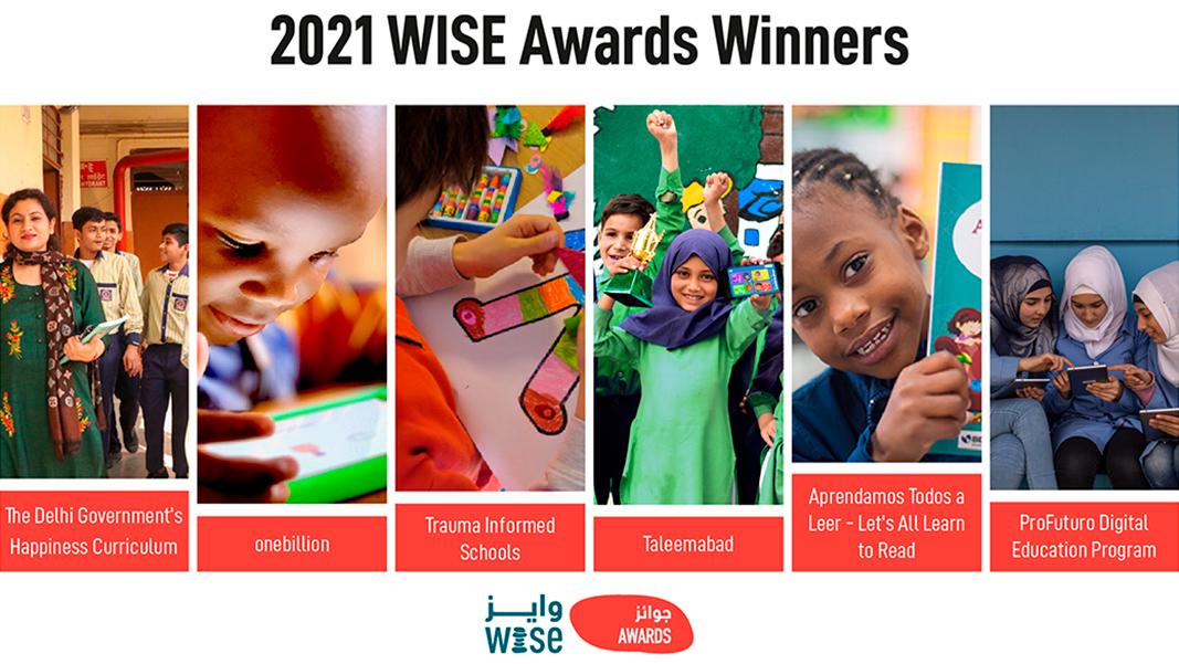 Ganadores de los Premios WISE 2021