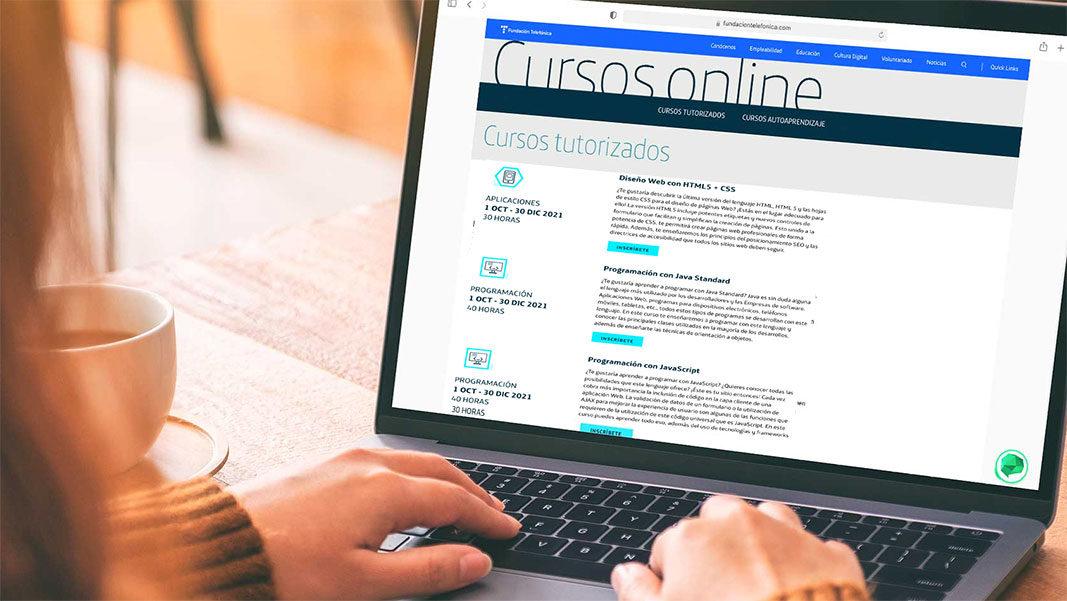 Inscripciones abiertas para los nuevos cursos gratuitos de Conecta Empleo